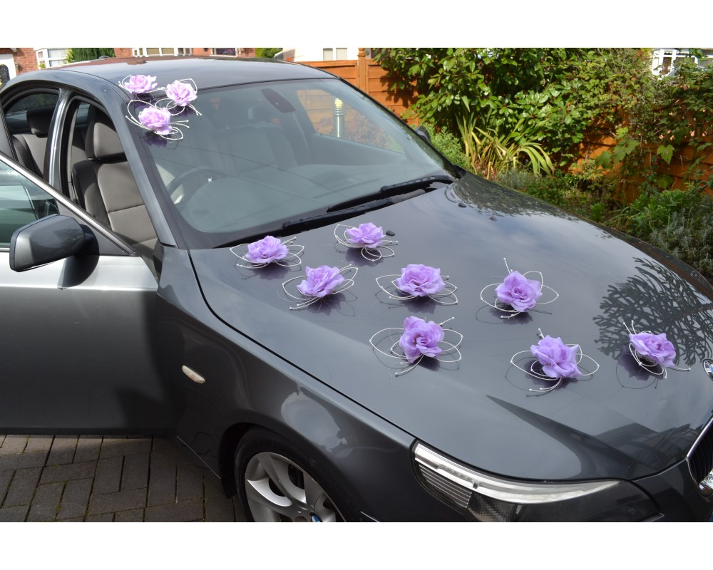 Prom car decoration