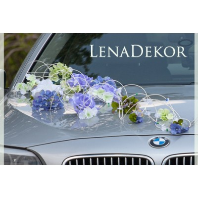 FIONA  wedding prom special occasion car decoration / LENA COLLECTION/