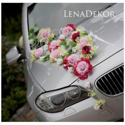 GONIA   wedding prom special occasion car decoration / LENA COLLECTION/